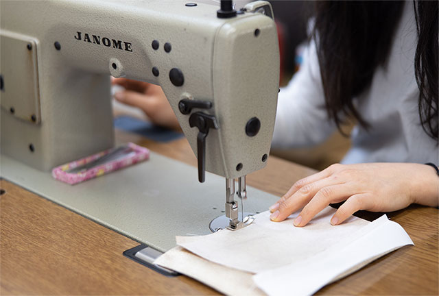 裁断・縫製